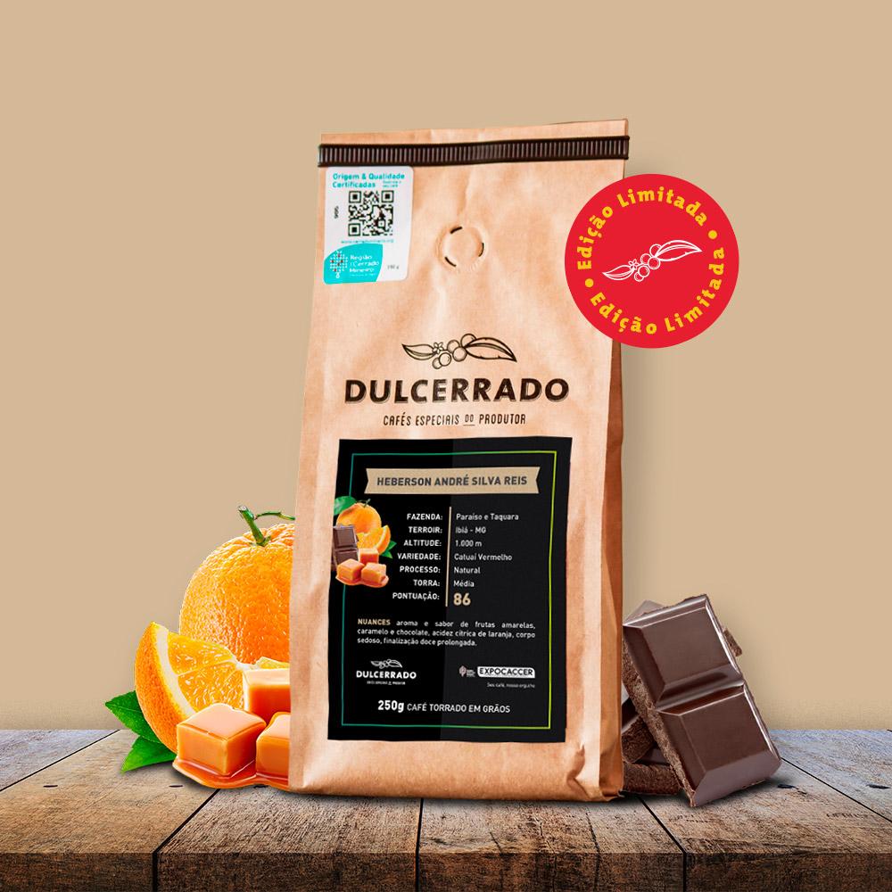 Café Dulcerrado Edição do Produtor 250 gr Grão - Heberson | Dulcerrado