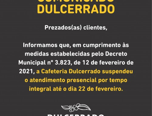 COMUNICADO OFICIAL DE 12 DE FEVEREIRO DE 2021